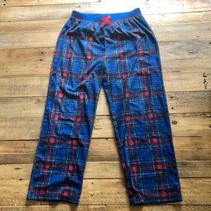 Children's place boys size 7/8 flannel pj bottoms